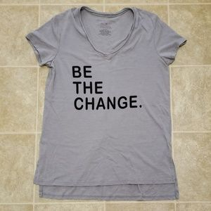 Grayson Threads | Be The Change V-neck | Size M